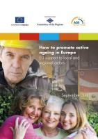 Age Platform - How to Promote Ageing Well in Europe (cover)