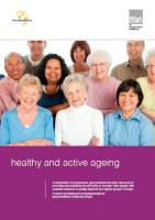 BZgA &amp; EuroHealthNet - Healthy and Active Ageing (cover)