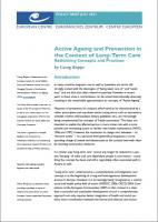 European Centre - Active Ageing and Prevention in the Context of... (cover)