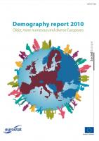 Demography Report (2010) - Older, More Numerous and Diverse Europeans (cover)