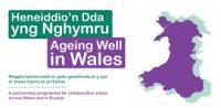 Ageing Well in Wales graphic logo